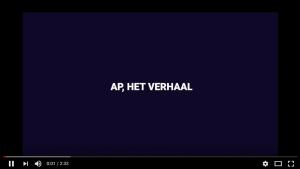 Animatievideo over het verhaal van AP 1