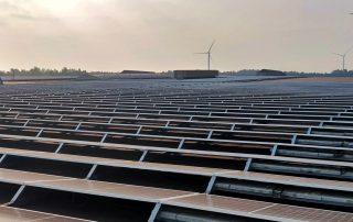 Vermogenverdelers voor het grootste zonnedak van België 1