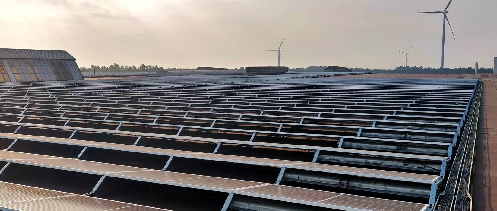 Vermogenverdelers voor het grootste zonnedak van België 2